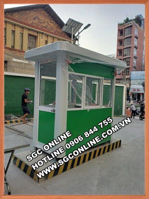 Trạm kiểm soát nhà xe SG50