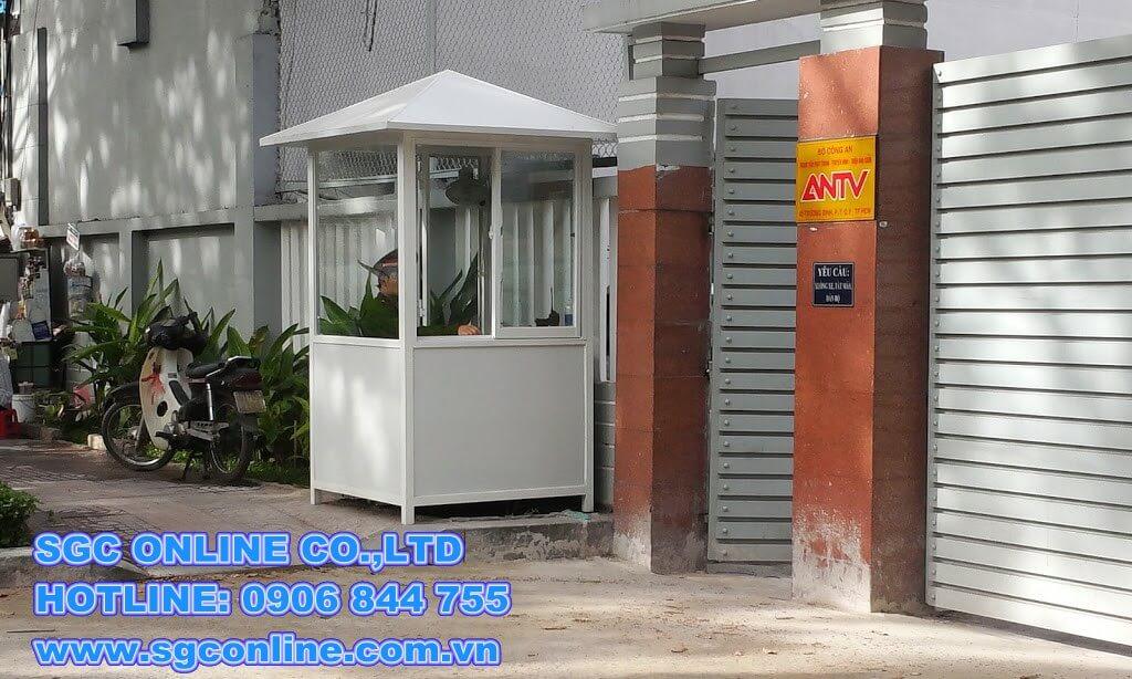 Nhà bảo vệ khung thép NBV39