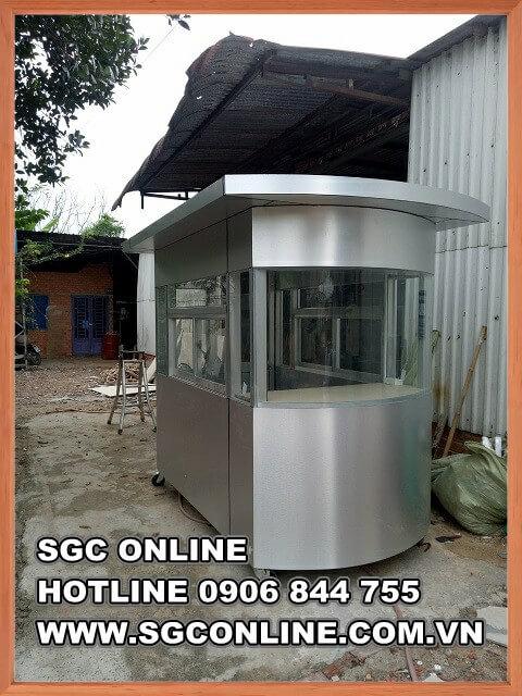Cabin bảo vệ khung inox SG48