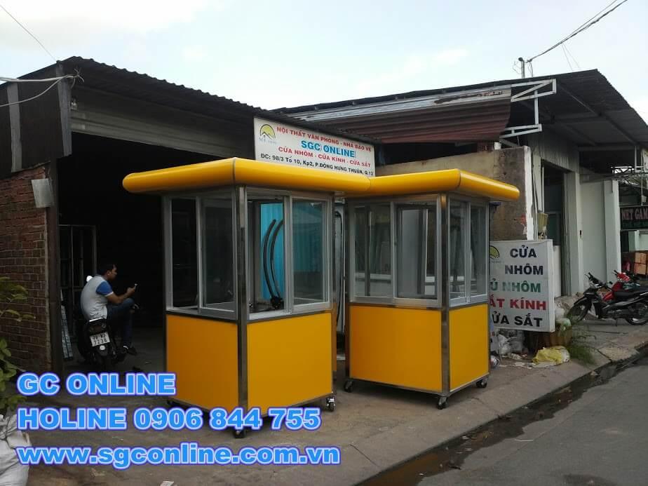 cabin bảo vệ khung inox BV53