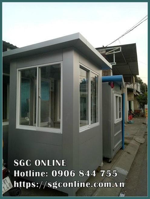 báo giá cabin bảo vệ tại Nha Trang