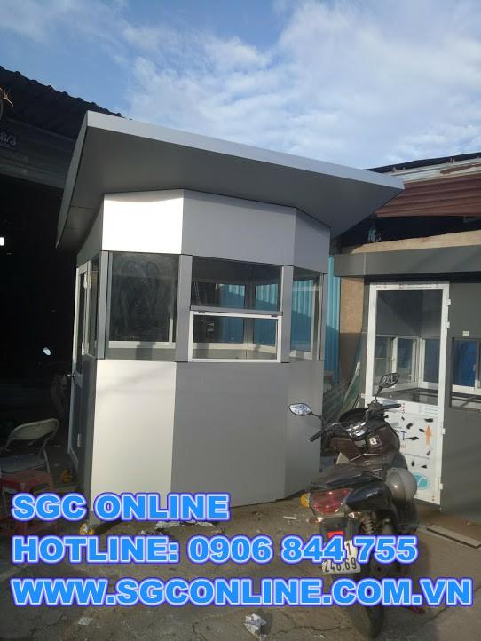 19 Mẫu nhà bảo vệ khung thép do SGC online sản xuất