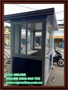 Cabin bảo vệ BV106-KCN Thành công-Tây Ninh