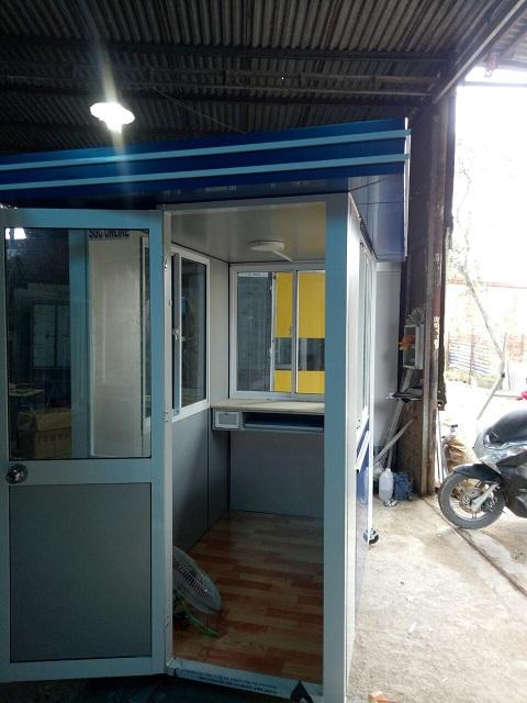 Nội thất bên trong chốt bảo vệ tại Tây Ninh