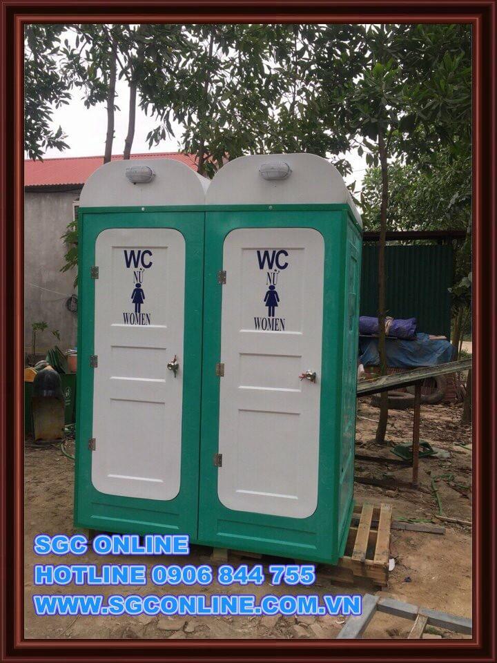 Nhà vệ sinh di động NVS01