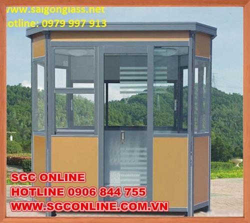 Bốt gác bảo vệ khung thép của SGC ONLINE có tốt không?