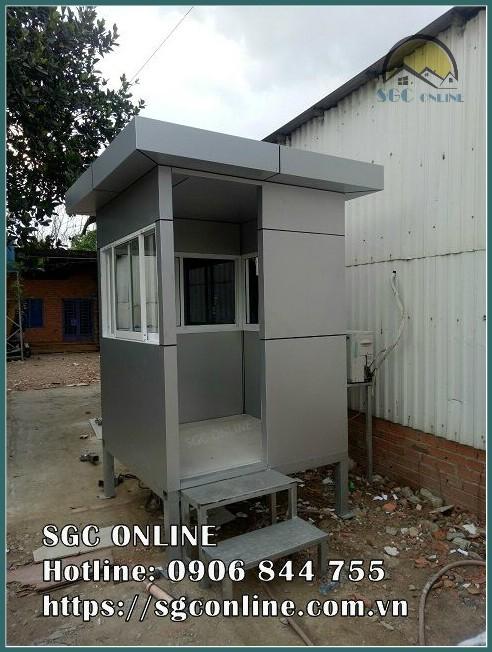 chòi bảo vệ khung thép SG24